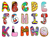 Sugar Coated Alphabet
