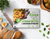 Kinza - ready-made dishes from natural products