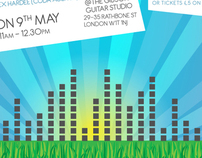 Digital - eFlyers for City Showcase Music Events