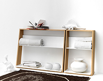 Lean storage: slim shelf