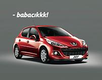 Peugeot - Babalar Günü İlanı