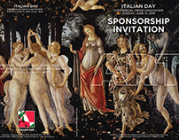 Barcelona Media Design / Italian Day Sponsorship Invite
