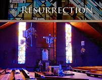 Resurrection Church website mock-up