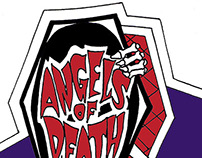 Angels of Death Logo Vector Conversion