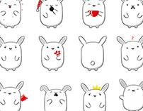 Stikers Rabbit