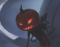 Halloween's time