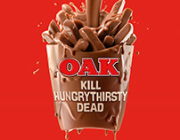 OAK Kill Hungry Thirsty Dead