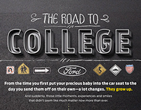 Ford - Back to School Infographic Series