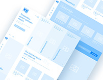 [WIP] Wireframe for a cosmetic brand's e-com website
