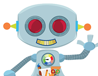 ROBOT ASISTENTE: Propuesta personaje  y aplicación