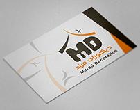 """""""Murad Decoration"""" logo design .."""