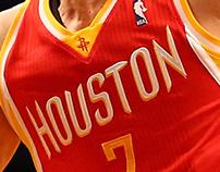 Houston Rockets Alternate Jersey