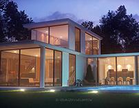 Minimalism concept house