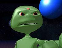 Animação Alien vs Alien