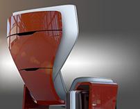 First class seat ( Alstom Work )