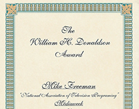 The William H. Donaldson Award (ADWEEK/Billboard Pub.)