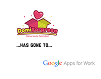 DomiSorpresa gone Google