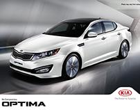 KIA Optima Digital Campaign
