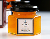 Packaging for handmade marmalade