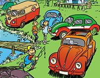 Book-La Coccinelle et le Combi VW