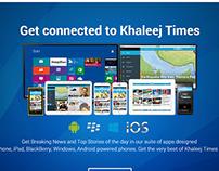 Khaleej Times - Apps