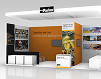 PARKER HANNIFIN - exhibition design