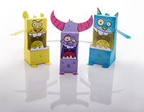 DrollBoxes-Paper toys