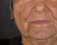 Old Lady Portrait - Pastel Pencils Portrait