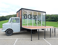 adapter (mobile art platform) – corporate design