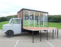 adapter (mobile art platform) – corporate design