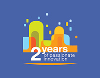 2 years of passionate innovation