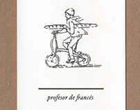 Profesor de frances | buisness card