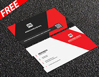 Vallagena & Creative Business Card Template  (FREE)