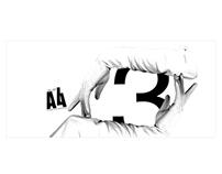 A4 Magazine - invitation