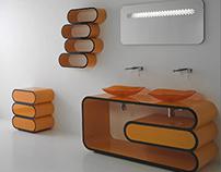 Furniture: ONDA - Il Bagno Bandini