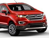 Ford EcoSport 2016 - Projeção