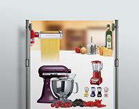 KitchenAid Branding & poster Design