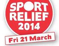 Sport Relief Banner