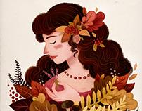 Autumn Lady