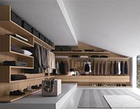 Land Giyinme Odası Panel Sistemi Tasarımı