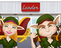 Leader - Animated Season's Greeting Card