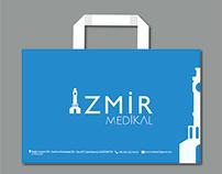İzmir medikal - Karton çanta