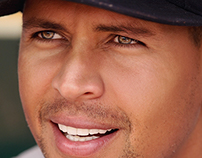 Digital Retouch Alex Rodriguez