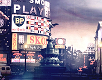 Piccadilly Circus in 1961