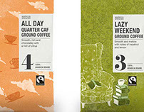 Coffee package illustrations for Marks&Spencer