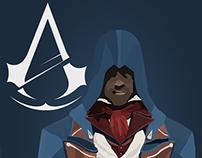 AC Unity Arno Low Poly