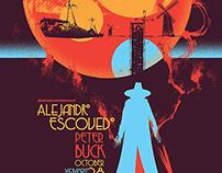 Alejandro Escovedo & Peter Buck Gigposter