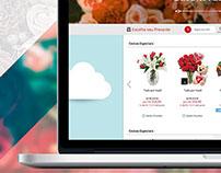 Giuliana Flores Web Site - E-commerce