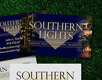 Branding Southern Lights - Landscape Lighting 2014
