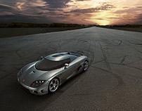 Koenigsegg - Airstrip Shot